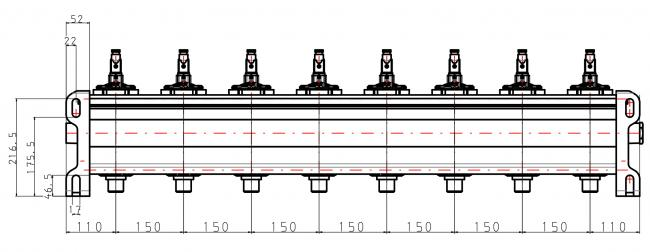 "ASCO Tank 6"", 8 Ventile"