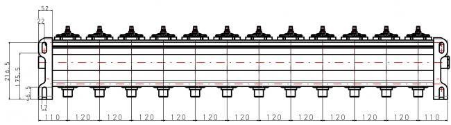 "ASCO Tank 6"", 12 Ventile"
